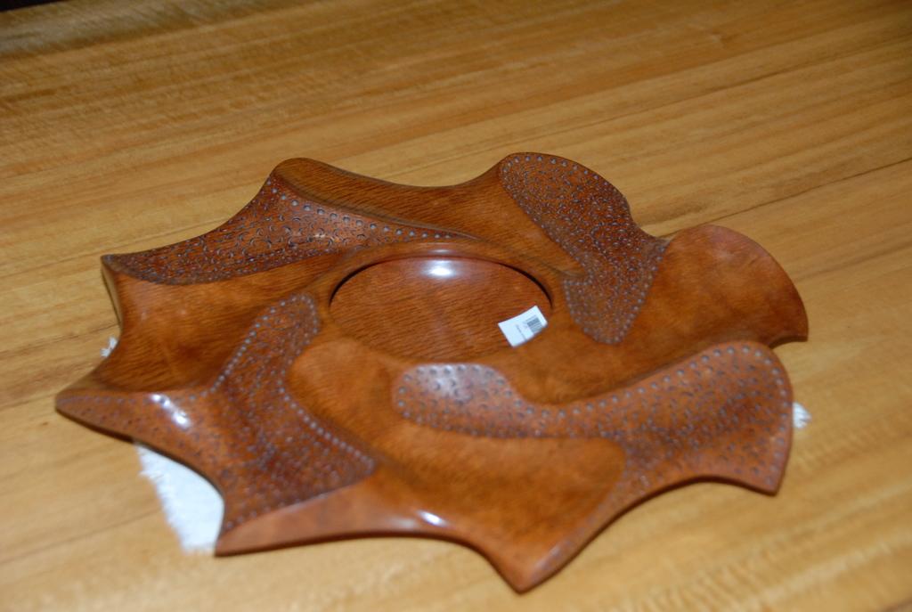 Embellished bowl sheoak